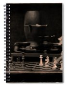 White To Move Spiral Notebook