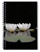 White Water-lily 6 Spiral Notebook