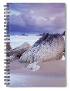 Whitepark Bay, Co Antrim, Ireland Rocks Spiral Notebook