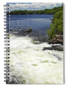 White's Falls Spiral Notebook