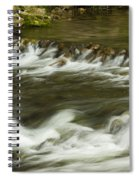 Whitewater River Rapids 3 Spiral Notebook