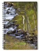 Whitewater River Rock Dam 1 A Spiral Notebook