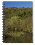 Whitewater River Scene 20 A Spiral Notebook