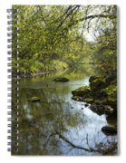 Whitewater River Spring 10 Spiral Notebook