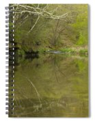 Whitewater River Spring 13 Spiral Notebook