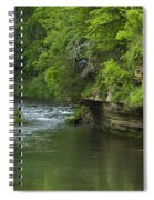 Whitewater River Spring 5 B Spiral Notebook