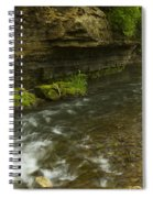 Whitewater River Spring 6 Spiral Notebook