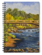 Whitney Crossing Spiral Notebook