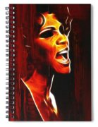 Whitneys Tears Spiral Notebook