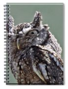 Who Said I Screech? Spiral Notebook
