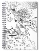 Why Not Flowers Spiral Notebook