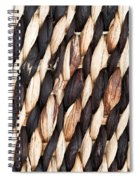 Wicker Background Spiral Notebook