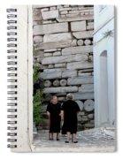 Widows At The Wall Spiral Notebook