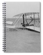 Wilbur Wright Crash Landing In Wright Spiral Notebook
