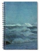 Wild Blue - High Surf - Outer Banks Spiral Notebook