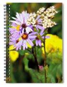Wild Floral Spiral Notebook