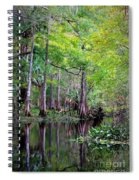 Wild Florida - Hillsborough River Spiral Notebook