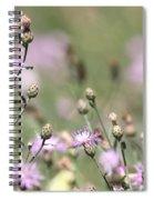 Wild Flowers - Just Wild Spiral Notebook