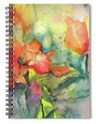 Wild Flowers 05 Spiral Notebook