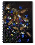 Wild Flowers 452150 Spiral Notebook