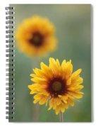Wild Gallardia, Jasper National Park Spiral Notebook