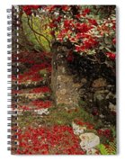 Wild Garden, Rowallane Garden, Co Down Spiral Notebook