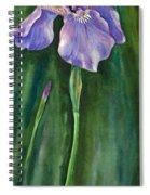 Wild Iris I Spiral Notebook