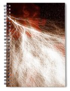 Wild Lightning  Spiral Notebook