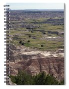 Wild Mountain Goat On Top Of The Badlands Spiral Notebook