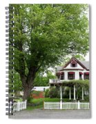 Wild Rose Inn Woodstock Spiral Notebook