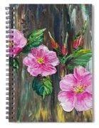 Wild Roses 09 Spiral Notebook