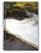 Wilderness Waterfall Autumn Stream Spiral Notebook