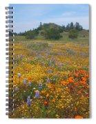 Wildflower Wonderland 8 Spiral Notebook
