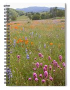 Wildflower Wonderland 6 Spiral Notebook