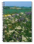 Wildflowers, Near Seaforde, Co Down Spiral Notebook