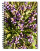 Wildflowers Top Down Spiral Notebook