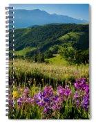 Wildflowers Umbria Spiral Notebook