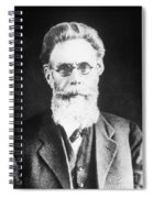 Wilhelm Roentgen, German Physicist Spiral Notebook
