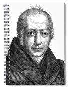 Wilhelm Von Humboldt Spiral Notebook