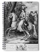 Wilhelmina Of Prussia Spiral Notebook