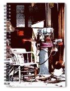 Willburn Furniture And Restoration Needs Restoring Spiral Notebook