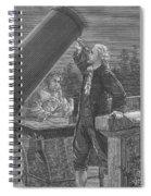 William And Caroline Herschel, German Spiral Notebook