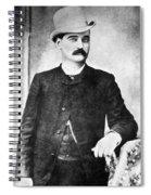 William Barclay Masterson Spiral Notebook