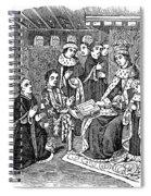 William Caxton (c1421-1491) Spiral Notebook