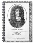 William Craven (1608-1697) Spiral Notebook