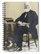 William Cullen Bryant, American Poet Spiral Notebook