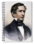 William Henry Seward Spiral Notebook