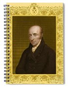 William Hyde Wollaston, English Chemist Spiral Notebook