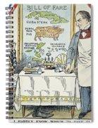 William Mckinley Cartoon Spiral Notebook