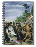William Penns Treaty, 1682 Spiral Notebook